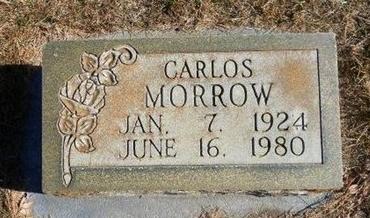 MORROW, CARLOS - Prowers County, Colorado   CARLOS MORROW - Colorado Gravestone Photos