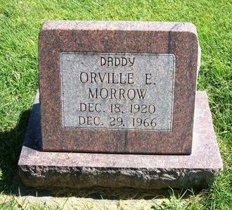 MORROW, ORVILLE E - Prowers County, Colorado   ORVILLE E MORROW - Colorado Gravestone Photos