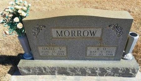 MORROW, R D - Prowers County, Colorado | R D MORROW - Colorado Gravestone Photos