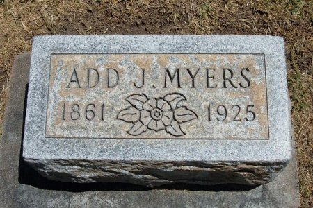 MYERS, ADD JAMES - Prowers County, Colorado | ADD JAMES MYERS - Colorado Gravestone Photos