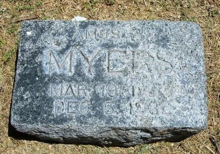MYERS, AMOS A - Prowers County, Colorado | AMOS A MYERS - Colorado Gravestone Photos
