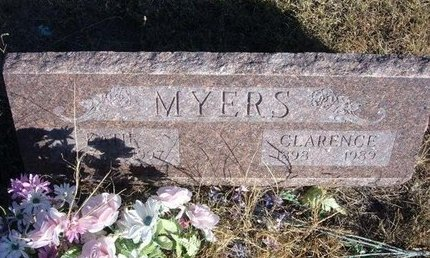 MYERS, CLARENCE - Prowers County, Colorado | CLARENCE MYERS - Colorado Gravestone Photos