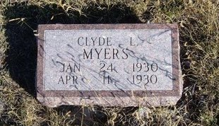 MYERS, CLYDE L - Prowers County, Colorado | CLYDE L MYERS - Colorado Gravestone Photos