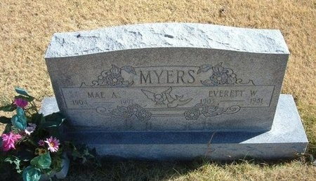 MYERS, EVERETT W - Prowers County, Colorado | EVERETT W MYERS - Colorado Gravestone Photos