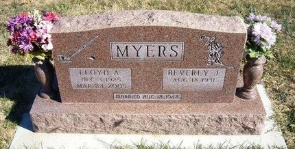 MYERS, LLOYD ANDREW - Prowers County, Colorado | LLOYD ANDREW MYERS - Colorado Gravestone Photos