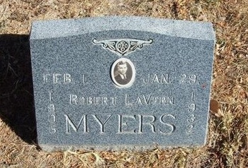 MYERS, ROBERT LAVERN - Prowers County, Colorado | ROBERT LAVERN MYERS - Colorado Gravestone Photos