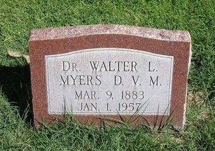 MYERS, WALTER LEMUEL - Prowers County, Colorado | WALTER LEMUEL MYERS - Colorado Gravestone Photos