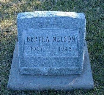 NELSON, BERTHA - Prowers County, Colorado | BERTHA NELSON - Colorado Gravestone Photos
