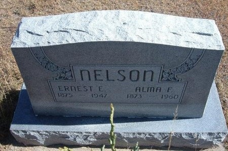NELSON, ALMA F - Prowers County, Colorado | ALMA F NELSON - Colorado Gravestone Photos