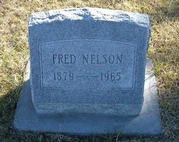 NELSON, FRED - Prowers County, Colorado | FRED NELSON - Colorado Gravestone Photos