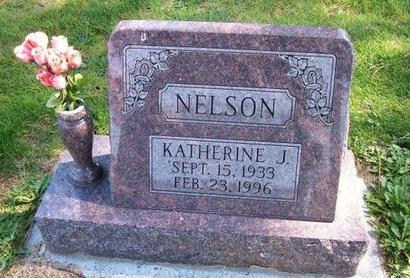NELSON, KATHERINE J - Prowers County, Colorado | KATHERINE J NELSON - Colorado Gravestone Photos