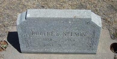 NELSON, ROBERT E - Prowers County, Colorado | ROBERT E NELSON - Colorado Gravestone Photos