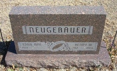 NEUGEBAUER, HENRY W - Prowers County, Colorado | HENRY W NEUGEBAUER - Colorado Gravestone Photos