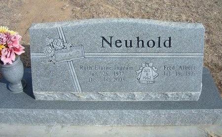 INGRAM NEUHOLD, RUTH ELAINE - Prowers County, Colorado | RUTH ELAINE INGRAM NEUHOLD - Colorado Gravestone Photos