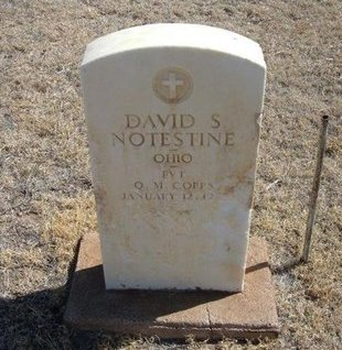 NOTESTINE (VETERAN SAW), DAVID S - Prowers County, Colorado | DAVID S NOTESTINE (VETERAN SAW) - Colorado Gravestone Photos