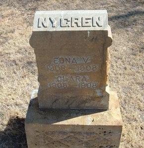 NYGREN, CLARA - Prowers County, Colorado | CLARA NYGREN - Colorado Gravestone Photos