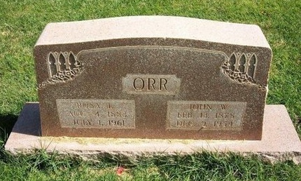 BURNHAM ORR, ROSA LILY - Prowers County, Colorado | ROSA LILY BURNHAM ORR - Colorado Gravestone Photos