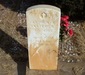 ARTEAGA (VETERAN), ARTHUR R - Prowers County, Colorado | ARTHUR R ARTEAGA (VETERAN) - Colorado Gravestone Photos