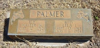 "MILLER PALMER, LELA IRENE ""BITTY"" - Prowers County, Colorado 