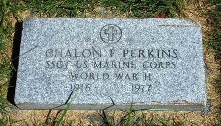 PERKINS (VETERAN WWII), CHALON F - Prowers County, Colorado | CHALON F PERKINS (VETERAN WWII) - Colorado Gravestone Photos