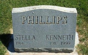 PHILLIPS, KENNETH - Prowers County, Colorado | KENNETH PHILLIPS - Colorado Gravestone Photos