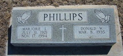 PHILLIPS, MARJORIE L - Prowers County, Colorado | MARJORIE L PHILLIPS - Colorado Gravestone Photos
