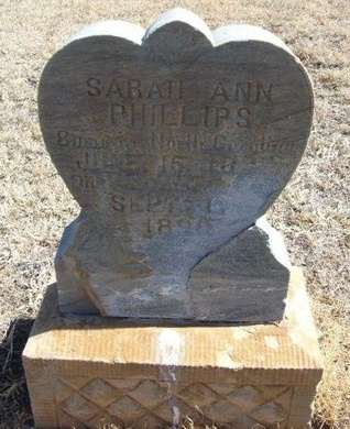 PHILLIPS, SARAH ANN - Prowers County, Colorado | SARAH ANN PHILLIPS - Colorado Gravestone Photos