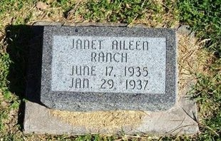 RANCH, JANET AILEEN - Prowers County, Colorado | JANET AILEEN RANCH - Colorado Gravestone Photos