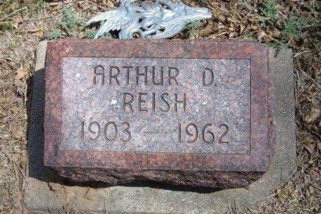 REISH, ARTHUR D - Prowers County, Colorado | ARTHUR D REISH - Colorado Gravestone Photos