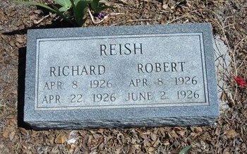 REISH, ROBERT - Prowers County, Colorado | ROBERT REISH - Colorado Gravestone Photos