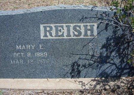 REISH, MARY E - Prowers County, Colorado | MARY E REISH - Colorado Gravestone Photos