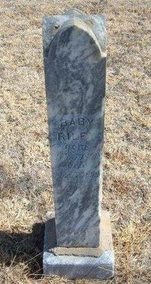 RILEY, BABY - Prowers County, Colorado | BABY RILEY - Colorado Gravestone Photos