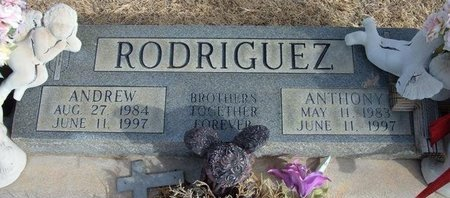 RODRIGUEZ, ANTHONY - Prowers County, Colorado | ANTHONY RODRIGUEZ - Colorado Gravestone Photos
