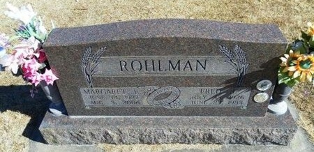 """ROHLMAN, MARGARET ELSIE """"MARGE"""" - Prowers County, Colorado 