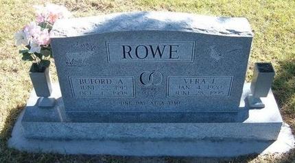 ROWE, VERA IRENE - Prowers County, Colorado | VERA IRENE ROWE - Colorado Gravestone Photos