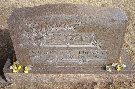 ROWE, EDGAR J - Prowers County, Colorado | EDGAR J ROWE - Colorado Gravestone Photos