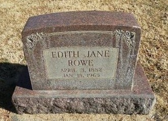 ROWE, EDITH JANE - Prowers County, Colorado   EDITH JANE ROWE - Colorado Gravestone Photos
