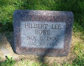 ROWE, HILBERT LEE - Prowers County, Colorado | HILBERT LEE ROWE - Colorado Gravestone Photos
