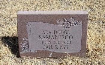 SAMANIEGO, ADA - Prowers County, Colorado | ADA SAMANIEGO - Colorado Gravestone Photos
