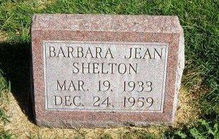 SHELTON, BARBARA JEAN - Prowers County, Colorado | BARBARA JEAN SHELTON - Colorado Gravestone Photos