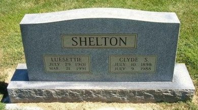 SHELTON, LUESETTIE - Prowers County, Colorado | LUESETTIE SHELTON - Colorado Gravestone Photos