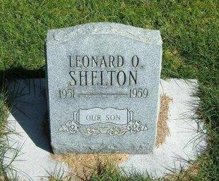 SHELTON, LEONARD O - Prowers County, Colorado | LEONARD O SHELTON - Colorado Gravestone Photos