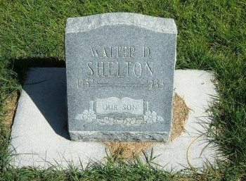 SHELTON, WALTER D - Prowers County, Colorado | WALTER D SHELTON - Colorado Gravestone Photos