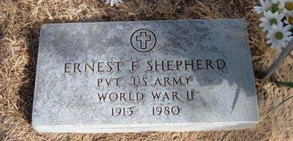 SHEPHERD (VETERAN WWII), ERNEST F - Prowers County, Colorado | ERNEST F SHEPHERD (VETERAN WWII) - Colorado Gravestone Photos