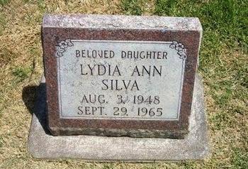 SILVA, LYDIA ANN - Prowers County, Colorado | LYDIA ANN SILVA - Colorado Gravestone Photos