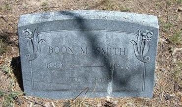 SMITH, BOON M - Prowers County, Colorado   BOON M SMITH - Colorado Gravestone Photos