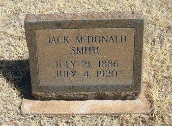 SMITH, JACK MCDONALD - Prowers County, Colorado   JACK MCDONALD SMITH - Colorado Gravestone Photos