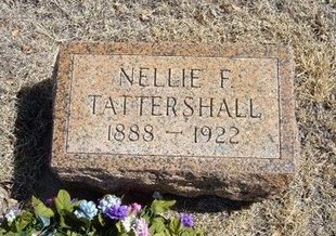 CASSITY TATTERSHELL, NELLIE F - Prowers County, Colorado | NELLIE F CASSITY TATTERSHELL - Colorado Gravestone Photos