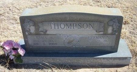THOMPSON, ESMA M - Prowers County, Colorado | ESMA M THOMPSON - Colorado Gravestone Photos