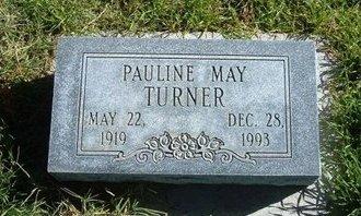 TURNER, PAULINE MAY - Prowers County, Colorado   PAULINE MAY TURNER - Colorado Gravestone Photos